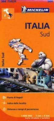 Italia Sud Regional Map 564 (Michelin Regional Maps) by Michelin | Hardcover Boo