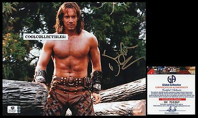"Kevin Sorbo In Person Signed 8X10 Color Photo Global Authentics ""ga"" Coa"