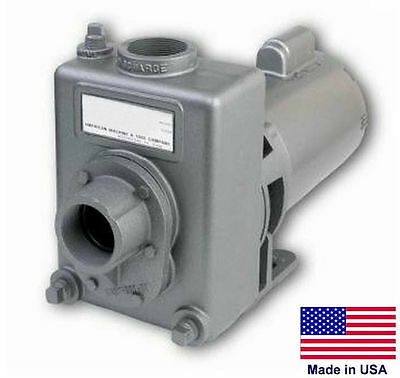 """CENTRIFUGAL PUMP Commercial - 3/4 Hp - 115/230V - 1 Phase - 1.5"""" Ports"""