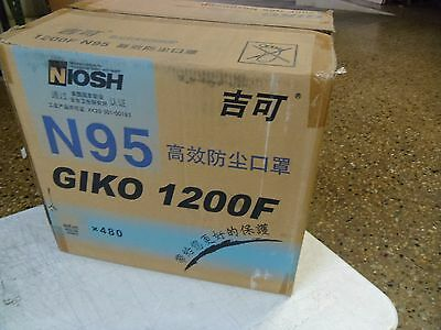 Giko N95 Particulate Respirator Dust Mask (NIOSH Approved) 1200F mold clean wood