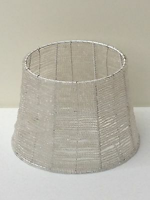 Pottery barn kids beaded lamp shade clear small new 4499 pottery barn kids beaded lamp shade clear small new aloadofball Image collections
