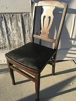 Beautiful Antique Louis Rastetter & Sons Solid Kumfort Vintage Folding Chair