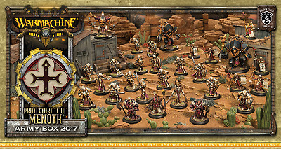Warmachine: The Protectorate of Menoth Army Box 2017 PIP 32991