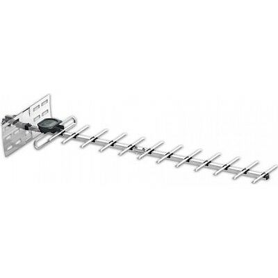 14 Element Wb Uhf Tv Aerial For Normal Signals - Maxview Silver Area Digital