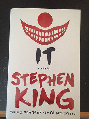 IT by Stephen King 2016 Trade Paperback Edition
