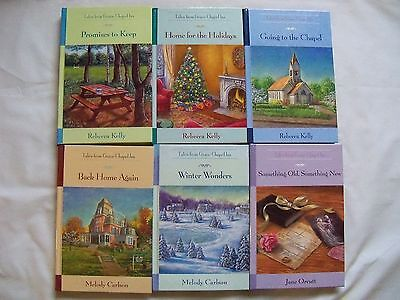 Lot of 6 Tales From Grace Chapel Inn Guideposts Series Hardcover Books