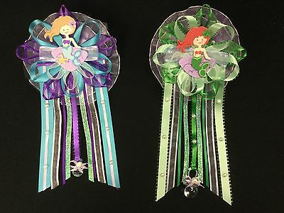 Mermaid Mommy To Be Corsage Pin, Capia for Baby Shower, Baby Girl, Ocean,Nautica