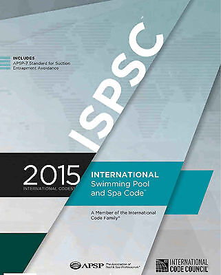 2015 International Swimming Pool and Spa Code (ISPSC) Plus Extra PDF's on CD
