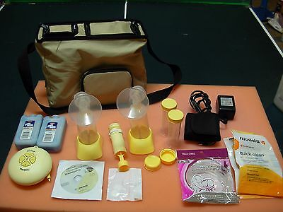 Complete MEDELA Personal Double PUMP IN STYLE ADVANCED Electric BREAST PUMP
