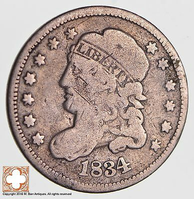 1834 Capped Bust Half Dime *2698