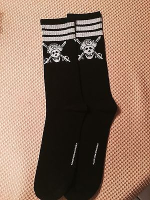 CAPTAIN MORGAN BLACK SOCKS----AWESOME and NEW!!