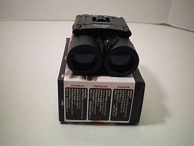 Tasco Essentials 10x25 Binoculars New Fully Coated Lens. Roof Prism System.