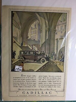 Original Vintage Cadillac Body Styles By Fisher And Fisher-Fleetwood Ad