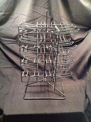 Small Table Top Display Rack For Carded Merchandise Used - I001