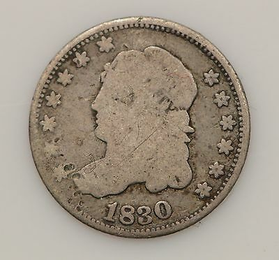 1830 Capped Bust Silver Half Dime *G14