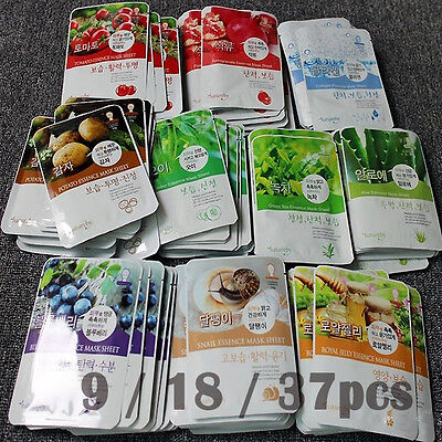[Natureby] Ultra Essence Face Mask Sheet Pack Korea Cosmetic Facial Skin Care