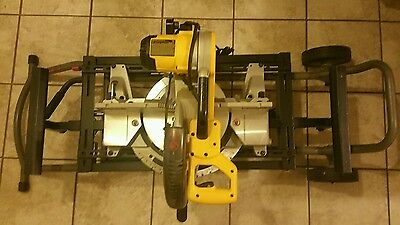 DEWALT DW716 15 Amp 12-Inch Double-Bevel Compound Miter Saw with Stand