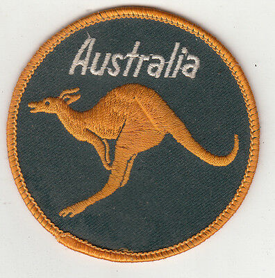 Australia Kangaroo Embroidered Patch