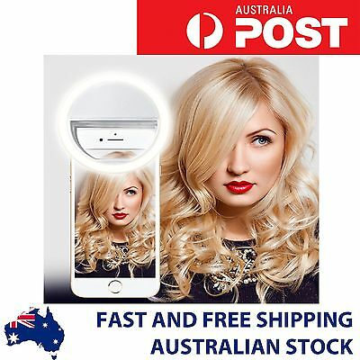 Selfie Portable LED Ring Fill Light Camera Photography For IPhone & Mobile Phone