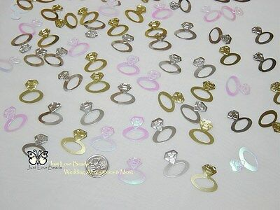 Wedding Table Scatters Conffetti Diamond Ring - Mix