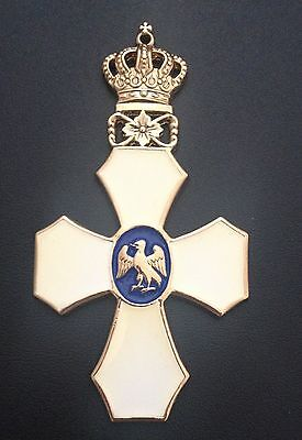 Museum Quality Royal Icelandic Order Of The Falcon Medal 1921