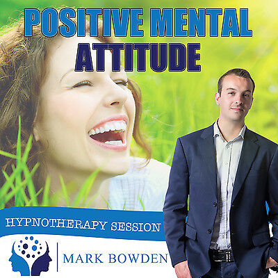 Positive Mental Attitude Hypnosis CD + FREE MP3 VERSION thinking positivity