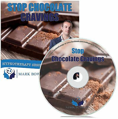 Stop Chocolate Cravings Hypnosis CD + FREE MP3 VERSION weight loss hypnotherapy