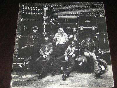 The Allman Brothers Band At Fillmore East rare '70 UK 1st press 2LP Atlantic NM