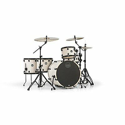 MAPEX MA528SFBAW Mars Series Crossover 5-Piece Drum Shell Pack, Bonewood