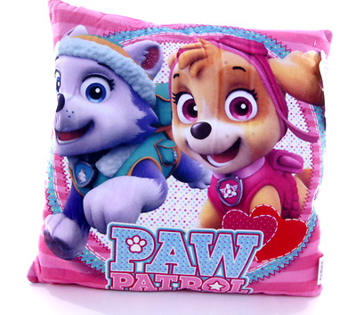 New Official Childrens Paw Patrol Skye Everest Pink Cushion Pillow
