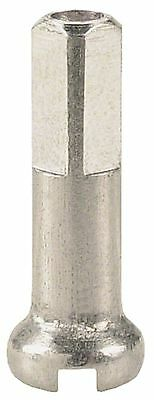 DT Swiss 1.8 x 16mm Silver Brass Nipples Box of 100