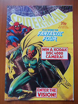 SPIDER-MAN N.541/1983 plus inside the Fantastic Four In Inglese