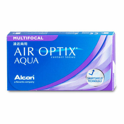 Alcon - Air Optix Aqua Multifocal Kontaktlinsen (1x3 Monatslinsen)