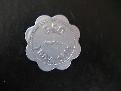 Geo. Troy Ohio Good For 5 Cent In Trade Token