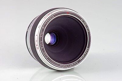 CARL ZEISS FLEKTOGON SUPER WIDE F4 20 20mm GERMANY TOPCON EXAKTA MOUNT