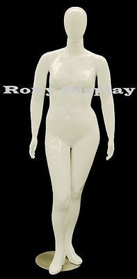 Female Plus Size Mannequin Manequin Manikin Dress Form Display #MD-NANCYW1S