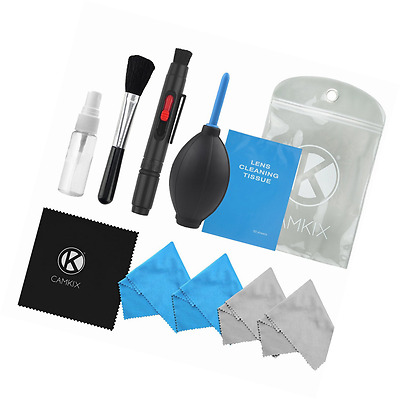 Professional Camera Cleaning Kit for DSLR Cameras- Canon, Nikon, Pentax, Sony -