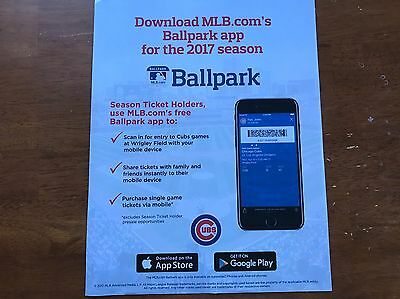 CHICAGO CUBS vs LOS ANGELES DODGERS · OPENING DAY 4/10 · VIP BLEACHER TICKETS