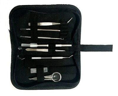 Vinyl Weeding Pick Tools Stainless Steel Professional Sign Making   8 pc + case