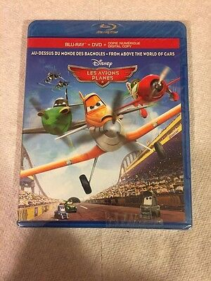 Disney Planes (2-Disc Blu-ray +DVD + Digital HD) ***BRAND NEW FACTORY SEALED***