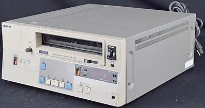 Sony VP-7020 3/4 VTR U-Matic Video Tape Cassette Player