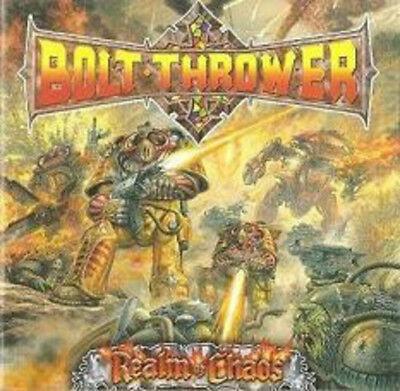 Bolt Thrower - Realm Of Chaos [CD New] 5055006501315