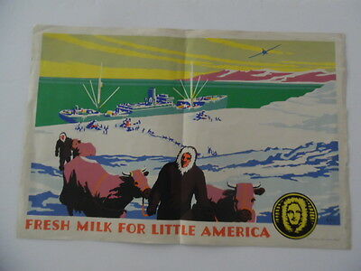 1934 Admiral Bird Expedition Poster Henry Lee Jr National Diary Counci Antarctic