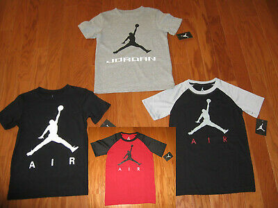 Air Jordan Short Sleeve  Shirt Boys Size S /m/l/xl  Nwt