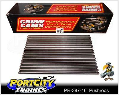 "Pushrods Set Holden V8 253 308 Hardened Steel 8.721"" 5/16 .080"" Wall PR-387-16"
