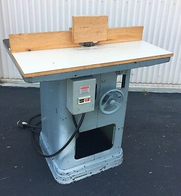 HEAVY DUTY DELTA/ROCKWELL Shaper  220V 3 Phase (Woodworking Machinery)