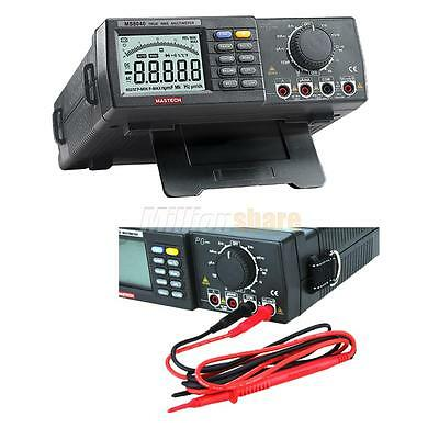 MASTECH MS8040 22000 Counts Digital Multimeter True RMS Bench AC DC Voltage DMM