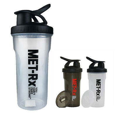 Protein Shaker 700ML Sports Water Bottle Cup Blender Mixer Ball Outdoor GYM