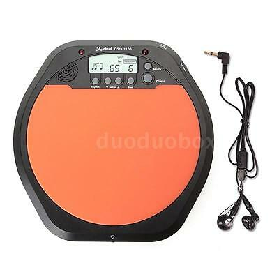 Digital LCD Electronic Drum Practice Drummer Training Pad Metronome Drum C5O5