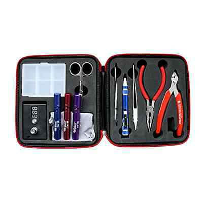 Vape Tool Screwdriver Set W/ Case Portable Micro Coiling Kit Vaping